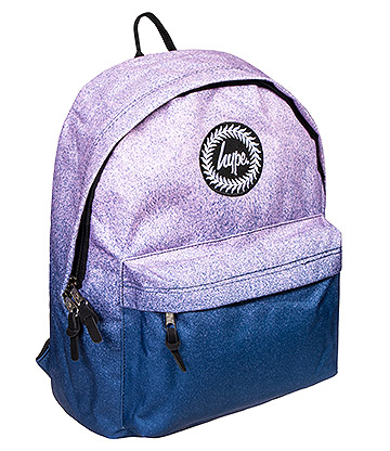 Hype Fade Speckle Backpack (Navy/Pink)