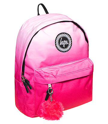 Hype Fade Pom Pom Backpack (Pink)