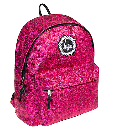 Hype Glitter Backpack (Pink)