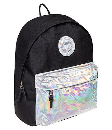 Hype Holographic Pocket Backpack (Black/Silver)