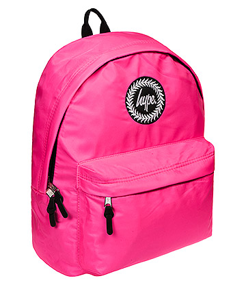 Hype Purple Fluorescent Backpack (Pink)