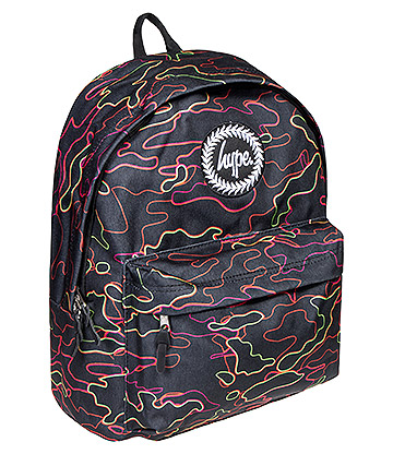 Hype Stroke Camo Backpack (Multicoloured)