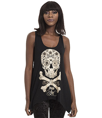 Jawbreaker Day Of The Dead Apothocary Vest (Black)