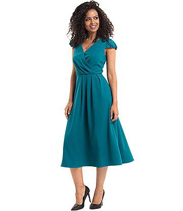 Voodoo Vixen Alexa Dress (Blue)