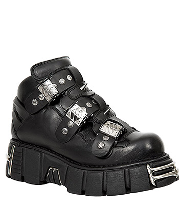 New Rock M.135-S1 Tower Platform Shoes (Black)