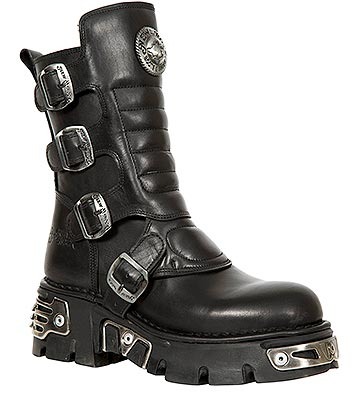 New Rock M.373X-S28 Reactor Calf Boots (Black)