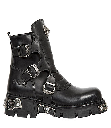 a9bc84a7fe3 New Rock M.1482X-S1 Reactor Half Boots (Black)