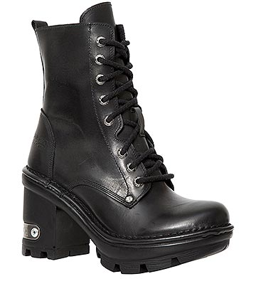 New Rock M.NEOTYRE07X-S1 NeoTyre Ankle Boots (Black)