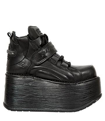 New Rock M.EP714-S3 Platforma Shoes (Black)