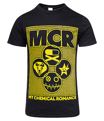 Official My Chemical Romance Lock Box T Shirt (Black)