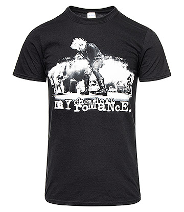 Official My Chemical Romance Live T Shirt (Black)