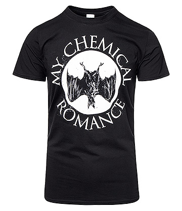 Official My Chemical Romance Bat T Shirt (Black)