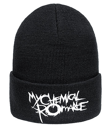 Official My Chemical Romance Black Parade Logo Beanie Hat (Black)