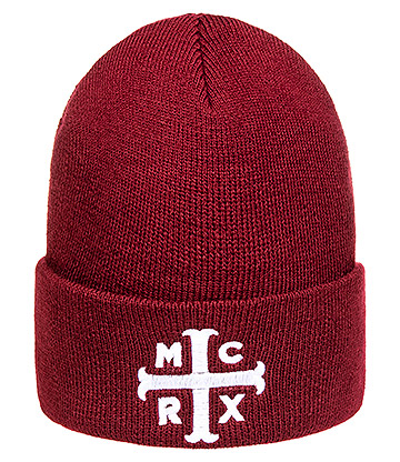 Official My Chemical Romance MCRX Logo Beanie Hat (Red)