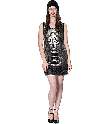 Banned Space 20s Dress (Black)