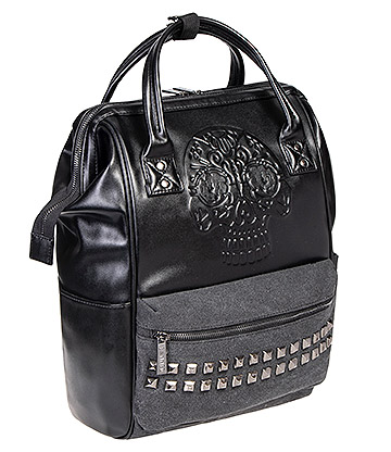 Banned Androgyny Backpack (Black)