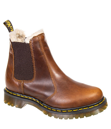 Dr Martens Leonore Orleans Boots (Butterscotch Brown)
