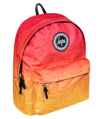Hype Speckle Fade Backpack (Orange/Red)