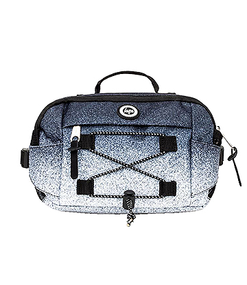 Hype Mono Speckle Fade Cross Body Bag (Black/White)