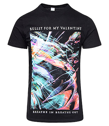 Official Bullet For My Valentine Gravity T Shirt (Black)