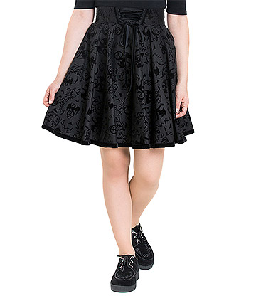 Hell Bunny Maleficent Skirt (Black)