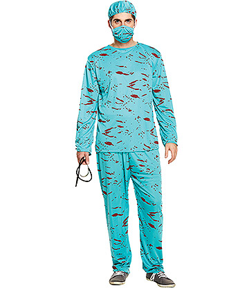Blue Banana Bloody Surgeon Costume