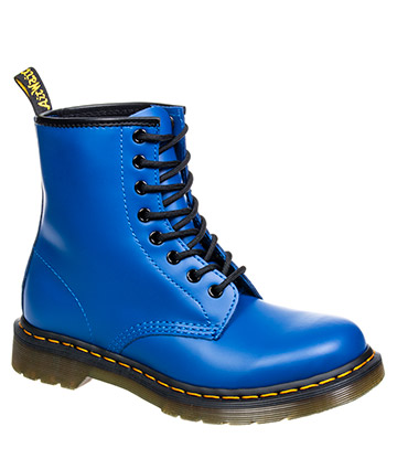 Dr Martens 1460 Smooth Colour Pop Boots (Blue)