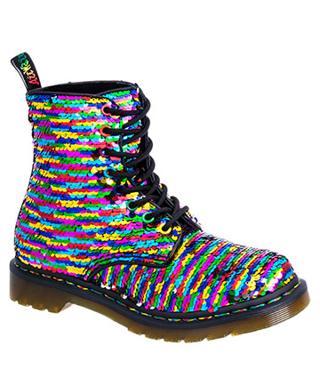 Dr Martens 1460 Pascal Rainbow Boots (Multicoloured)