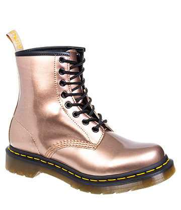 Dr Martens 1460 Vegan Boots (Rose Gold)