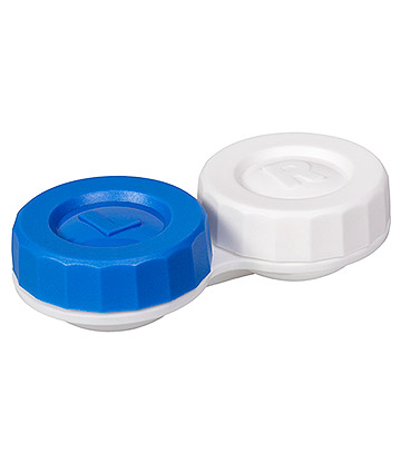 Coloured Contacts Standard Lens Case (Blue)