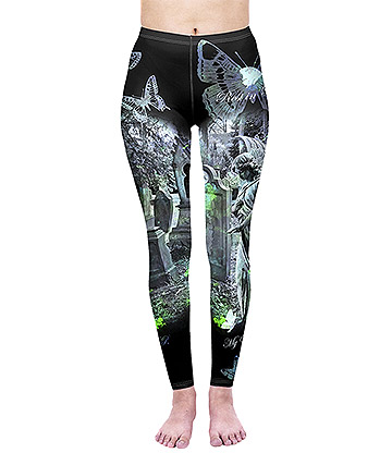 KukuBird Tombstone Leggings (Multicoloured)