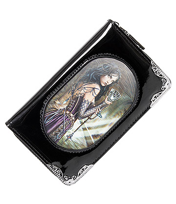 Alchemy Gothic Rose Witch 3D Purse (Black)