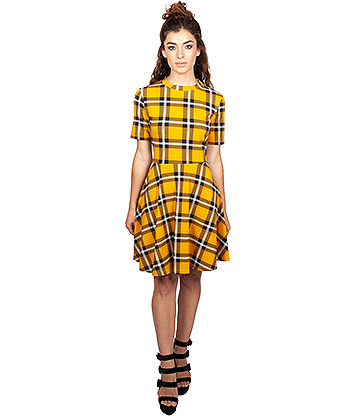 Jawbreaker Reality Check Dress (Yellow)