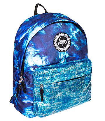 Hype Ocean Glitter Backpack (Blue)