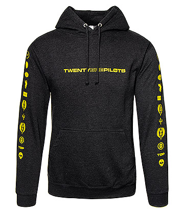 Official Twenty One Pilots Logo Heavy Hoodie (Black)