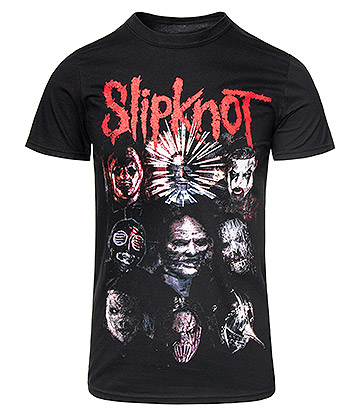 Official Slipknot Prepare For Hell Tour T Shirt (Black)