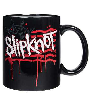 Official Slipknot Logo Mug (Black)