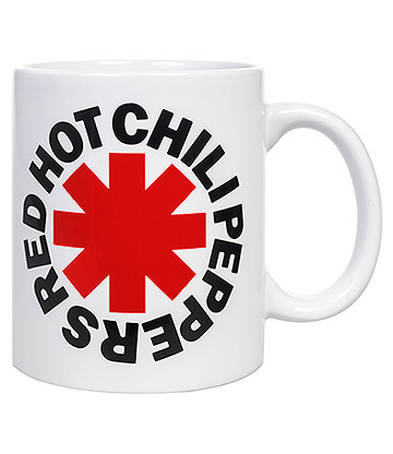 Official Red Hot Chili Peppers Asterisk Mug (White)