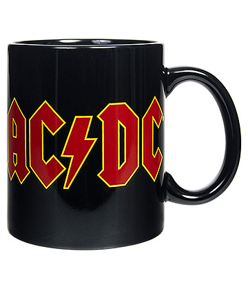 Official AC/DC Logo Mug (Black)