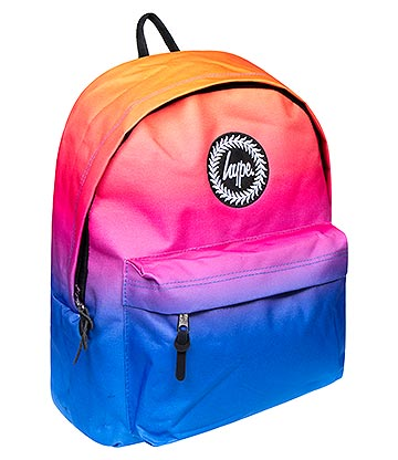 Hype Hi-Fi Fade Backpack (Orange)