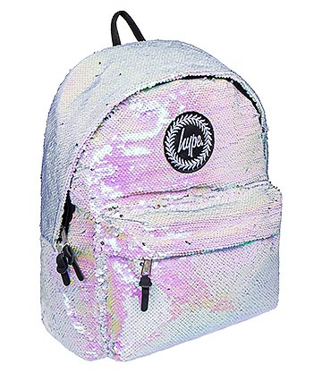 Hype Unicorn Reversible Sequin Backpack (Multicoloured)