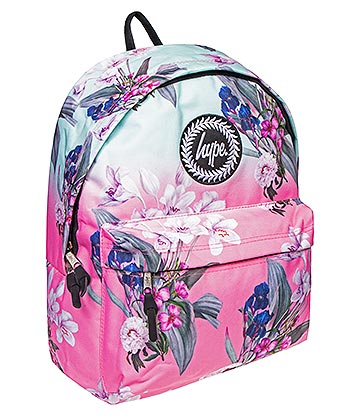 Hype Floral Fade Backpack (Pink)