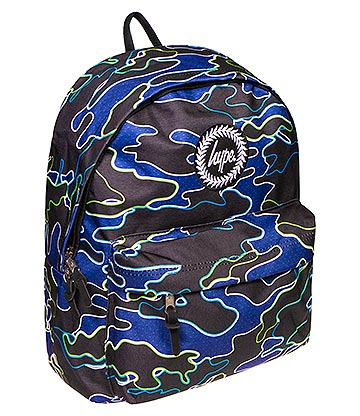 Hype Line Camo Backpack (Multicoloured)