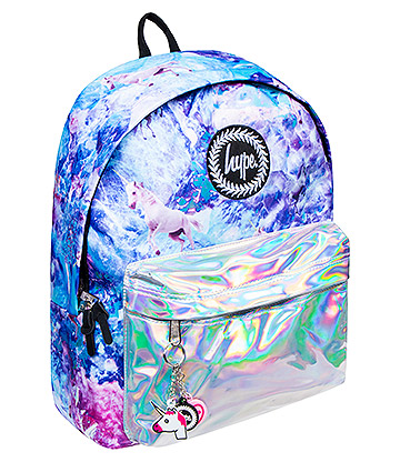 Hype Holographic Unicorn Backpack (Multicoloured/Silver)