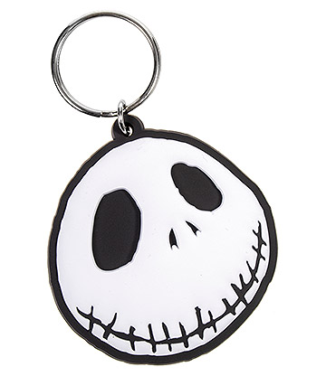 Nightmare Before Christmas Jack Face Keyring