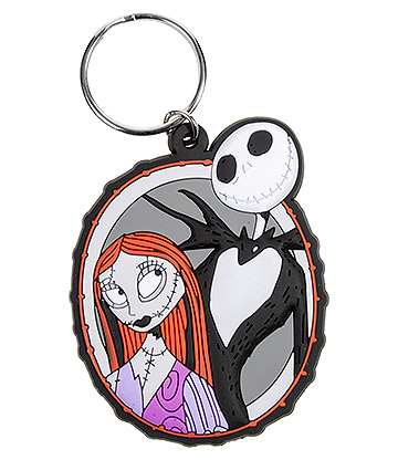 Nightmare Before Christmas Jack & Sally Keyring