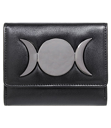 Banned Vidonia 3 Moon Purse (Black)