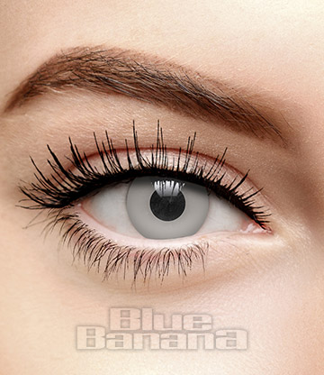 Undead Halloween 1 Day Coloured Contact Lenses (Grey)
