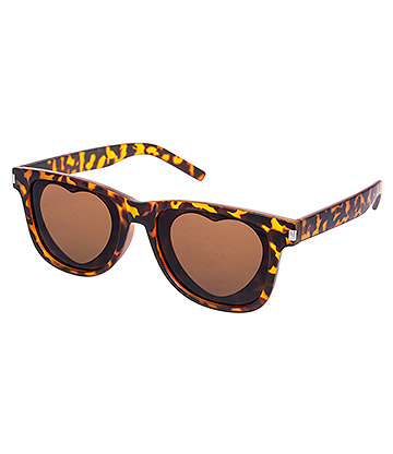 Blue Banana Frost Leopard Sunglasses (Brown)