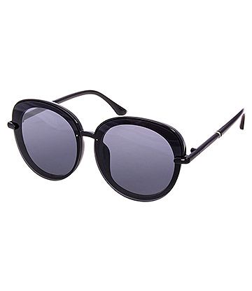 Blue Banana Large Sunglasses (Black)